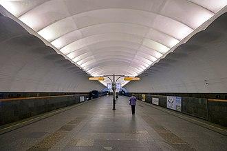 Prospekt Bolshevikov (Saint Petersburg Metro) - Station Hall