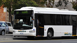 Metro Tasmania - Northcoast Bus & Coach bodied Scania L94UB in pre-2010 corporate livery