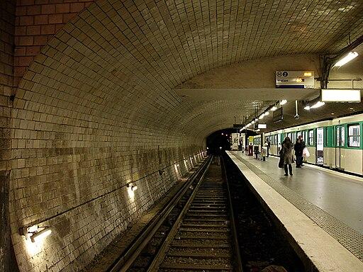 Metro de Paris - Ligne 2 - Porte Dauphine 04