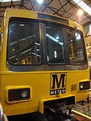 Metrocar 4023, Tyne and Wear Metro depot open day, 8 August 2010 (2).jpg