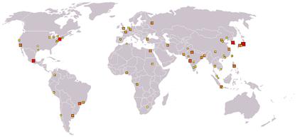 Die größten Metropolregionen der Welt