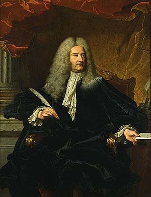 Germain Louis Chauvelin - Germain Louis Chauvelin. Portrait by Hyacinthe Rigaud.