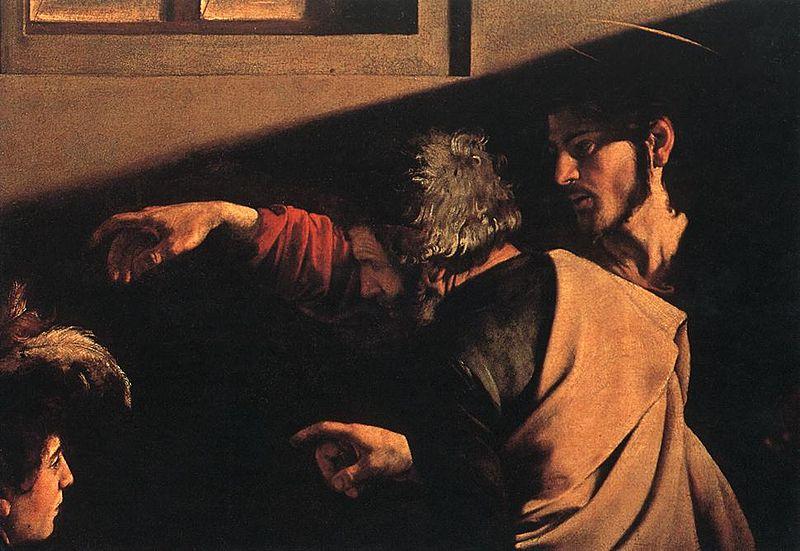 File:Michelangelo Merisi da Caravaggio - The Calling of Saint Matthew (detail) - WGA04119.jpg