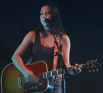Michelle Branch - Branch performing in October 2003.