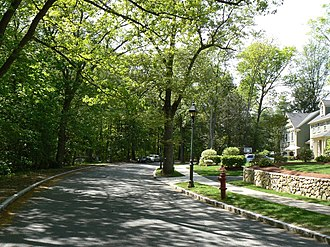 Middlesex Fells Reservation Parkways - Image: Middlesex Fells Winchester MA Hillcrest Parkway
