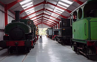 Middleton Railway - The engine shed museum