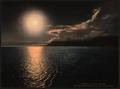 Midnight sun in Advent Bay, Spitzbergen, Norway-LCCN2001700765.tif