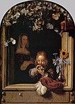 Mieris I, Frans van - Boy Blowing Bubbles - 17th century.jpg