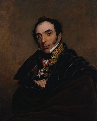 Miguel Ricardo de Álava - Portrait by George Dawe, 1818