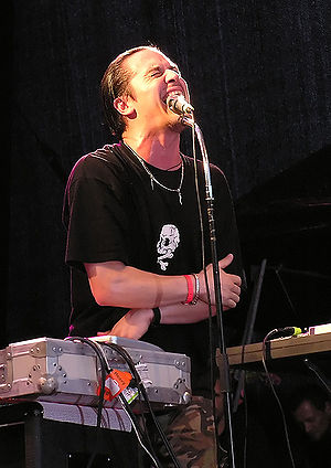 Mike Patton - Patton playing with Fantômas in 2005.
