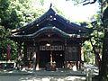 Mikka Ebisu Shrine in Sumiyoshi Shrine.JPG