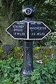 Milepost, Rochdale Canal, Brearley - geograph.org.uk - 58735.jpg
