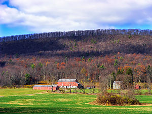 Miles Township, Centre County, Pennsylvania - A farm in Miles Township