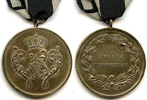 Military Honor Medal - 1864 version of the Military Honor Medal, 2nd Class