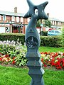 Millennium milepost at Eastriggs - geograph.org.uk - 511048.jpg