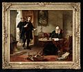 Milton visiting Galileo when a prisoner of the Inquisition. Wellcome L0025611.jpg