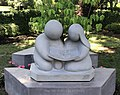 "Minako Yoshino's Holocaust Memorial ""Children reading a history book"" 2018.jpg"