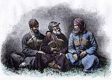 Mingrelianaj tradiciaj kostumoj (1881).jpg