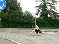 Mini roundabout, Great North Road, Eaton Socon - geograph.org.uk - 1371277.jpg