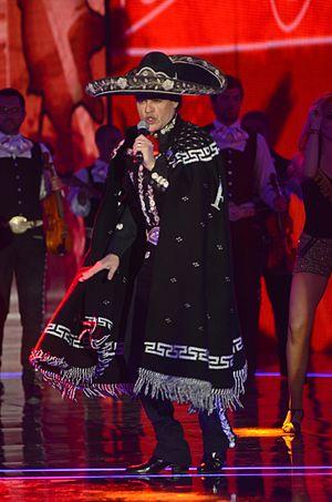 Latin Grammy Award for Best Ranchero/Mariachi Album - Pedro Fernández winner in 2001 and 2015.