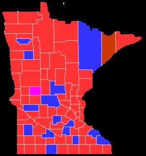 Minnesota gubernatorial election, 1912 - Image: Minnesota Governor 1912