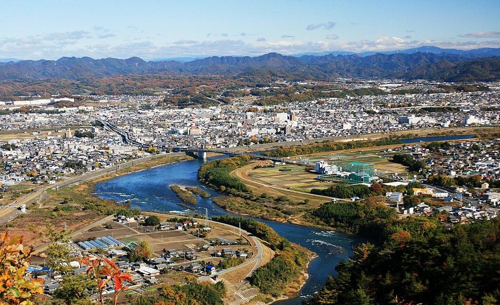 岐阜県美濃加茂市の様子