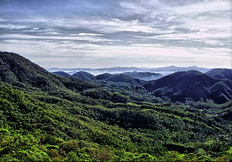 Serra do Itajaí National Park - Image: Mirante do Morro Santo Antônio Guabiruba SC