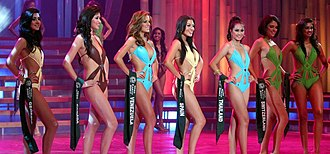 Swimsuit competition - Image: Missearth 08 top 8