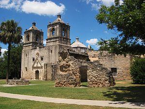 Mission Concepcion - Image: Mission Concepcion San Antonio 1