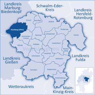 Homberg (Ohm) - Image: Mittelhessen Vogelsberg Hom