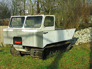 Thiokol - Amphibious Thiokol Swamp Spryte All Terrain Vehicle