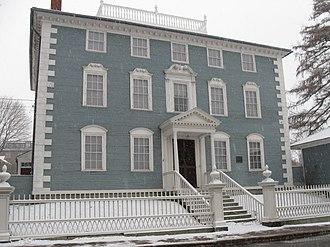 Moffatt-Ladd House - The Moffatt-Ladd House in December 2009