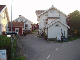 Mollösund Place in Bohuslän, Sweden