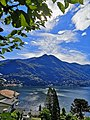 Moltrasio, Lake Como - greeting our neighbors on the other shore.jpg