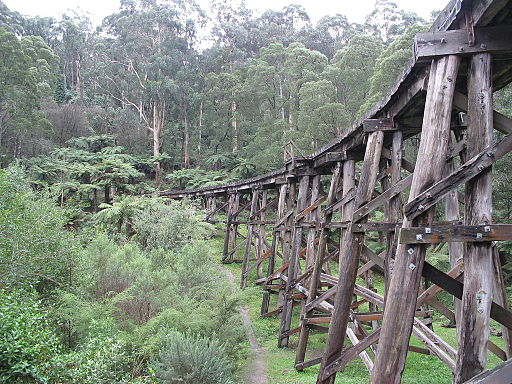 Monbulk Creek Trestle Bridge