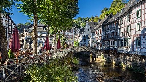 Monschau - Rur - Nordrhein-Westfalen - Deutschland (21354109773)