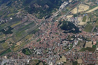 Monselice - Monselice: aerial view