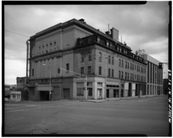 Montana Theater, built on North Montana Street in 1901 as Sutton's New Grand Theatre, had a seating capacity of 2,175. In its heyday, this theater attracted the most famous acts HAER MONT,47-BUT,1-68.tif