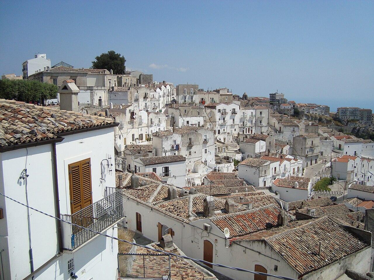 Monte Sant'Angelo – Veduta