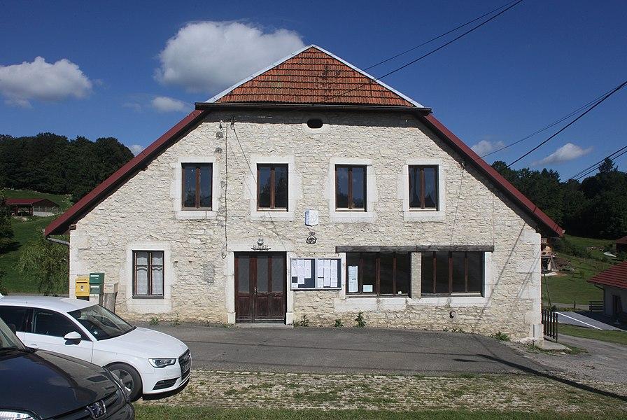 Mairie de Montflovin (Doubs).