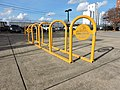 Montgomery Bicycle Club's Bike Racks.JPG