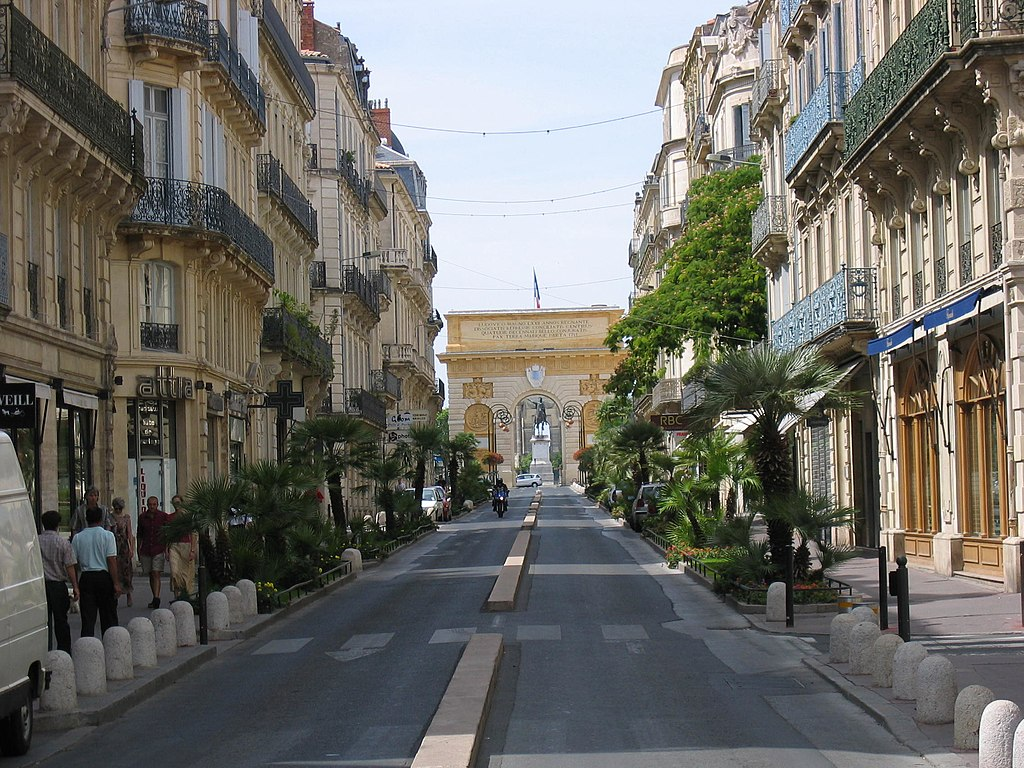 Retire to the Friendly University City of Montpellier France