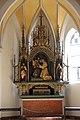 Moosburg an der Isar, St Kastulus 015, Side altar.JPG