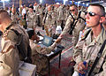 More than 300 military members from various services and career fields inprocess through the joint processing center at Jiynaklis Air Base in Egypt on Wednesday Sept 010911-F-LB417-006.jpg