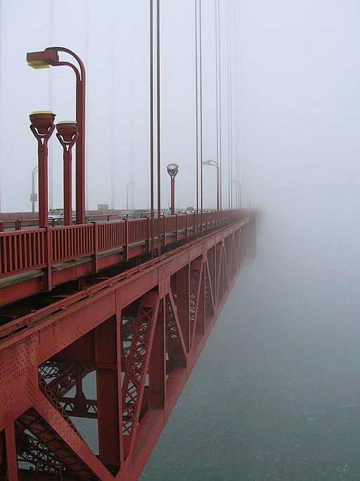 Morning Fog at GGB