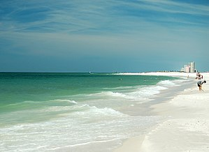 Baldwin County, Alabama - Baldwin County's beaches