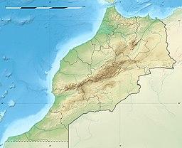 Situo de Kazablanko enkadre de Maroko