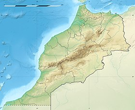 Oujda is located in Maroko