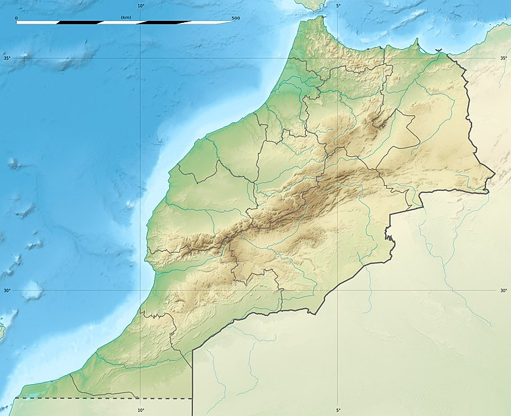 Fichier:Morocco relief location map.jpg