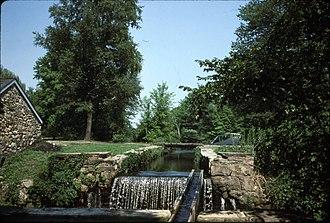 Waterloo Village, New Jersey - Image: Morris Canal Lock Waterloo Village